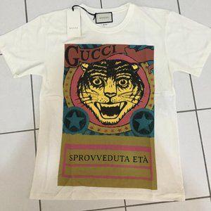 Gucci Short Sleeve Casual Daily T-Shirt